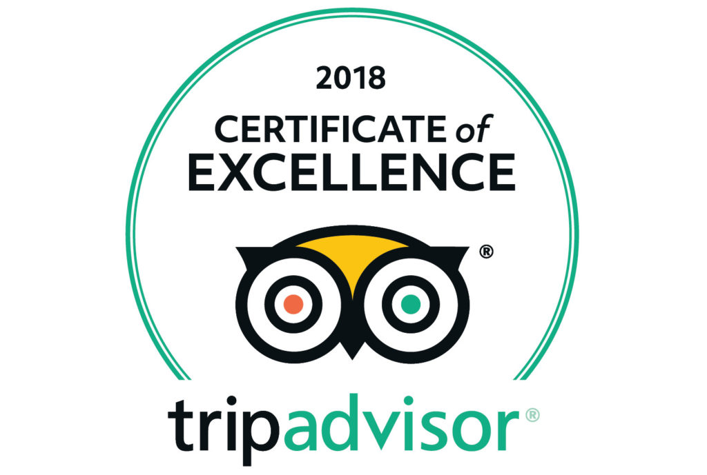 Sifatwy Boutique Hotel TripAdvisor certificate of excellence